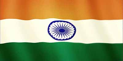 information on national flag of india The indian flag is a horizontal tricolour in equal proportion of deep saffron on the top, white in the middle and dark green at the bottom the ratio of the width to the length of the flag is two is to three.